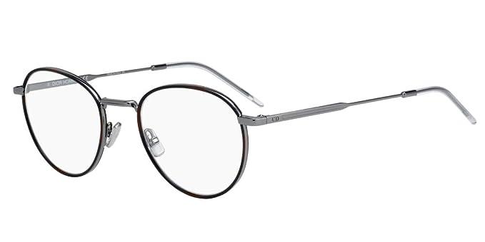 Lunettes de Vue Dior DIOR 0213 RUTHENIUM HAVANA homme  Amazon.fr ... 3db39cf5ce90