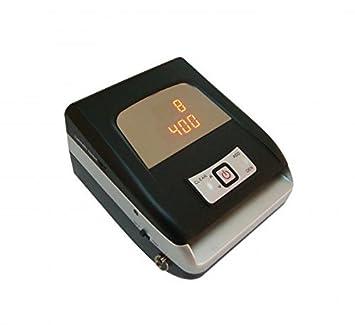 Eurocompetenz - Detector de billetes falsos profesional, detecta y cuenta billetes, funciona con batería.: Amazon.es: Oficina y papelería