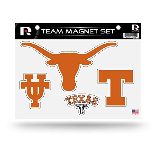 (Rico Industries NCAA Texas Longhorns Die Cut Team Magnet Set)