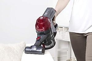 Hoover Freedom FD22RP - Aspiradora escoba sin cable, Ciclónica, Cepillo especial pelo de mascota, Antialergias, Cepillo suelos duros, Batería extraíble litio 22V, 25min, Potencia contínua: Hoover: Amazon.es: Hogar