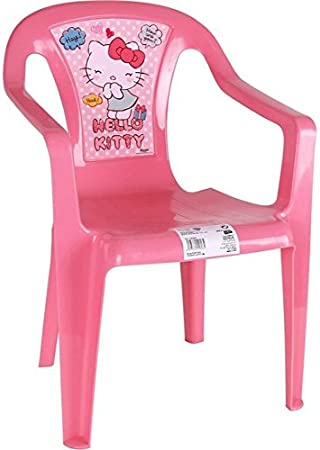 Hello Kitty Chaise en plastique de 37 x 39 x 52 cm: Amazon