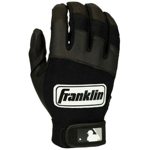 MLB Youth Classic Series Batting Glove Size: Small, Color: Black / Black