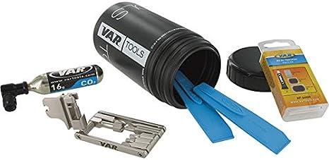 Var VR15710 Kit de Bote Porta Herramientas, Unisex Adulto ...