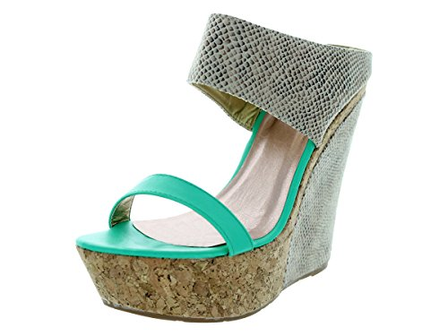 Shoe MAKER'S 4 Women's Winny Dress Aqua wSSIr6gq