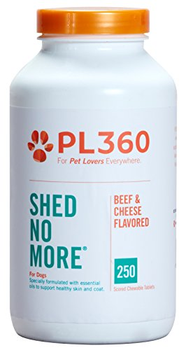PL360 Shed no More for Dogs, 250ct -