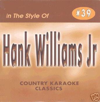 HANK WILLIAMS JR. Country Karaoke Classics CDG Music CD ()