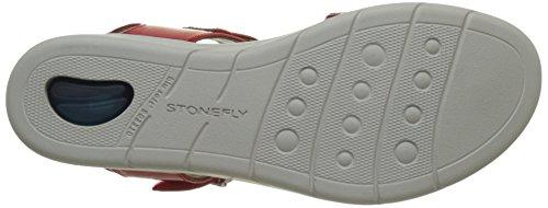 Stonefly Damen Aqua III 2 Plateau Rot (ROSSO 600)