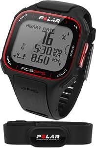 Polar RC3 GPS HR Cardiofrequenzimetro, Nero
