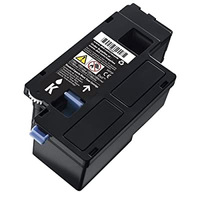 Dell 810WH Black Toner Cartridge 1250c/1350cnw/1355cn/1355cnw/C1760nw/C1765nf/C1765nfw Color Printers