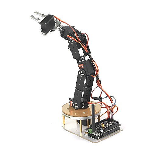 Sainsmart diy axis servo control robot arm combo kit