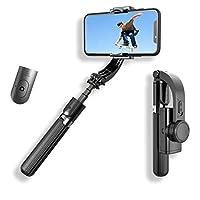 Gimbal L08 Estabilizador Selfie 3 Eixos Bluetooth Selfie Stick e Tripé Para Celular e Câmeras Aluminium