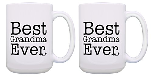 Grandma Gifts Granddaughter 15 oz Coffee