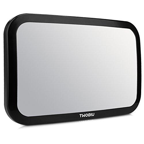 TWOBIU Baby Car Mirror for Rear View Car Seat with Crash Tes