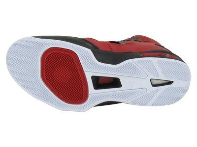 Nike Mens Jordan Melo M9 Scarpa Da Basket Palestra Rosso / Bianco-nero