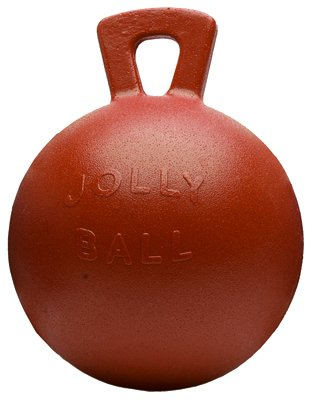 Horsemens Pride 410 RD Jolly Ball, Red, 10-In. - Quantity 8