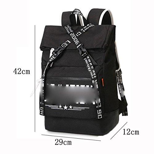 Para Bolso Daypack Casual Portátil SapphireBlue Moda Gray De Hombro Mochila Bag School X7Rqpa