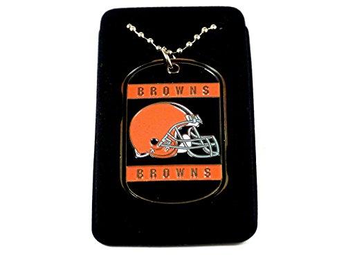NFL Cleveland Browns Dog Tag Necklace