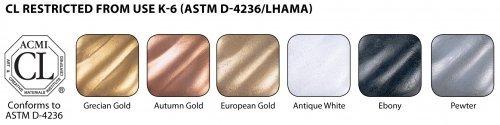 Rub N Buff Wax Metallic Finishes 6 Color Sampler Set #2 AMACO 4336953220