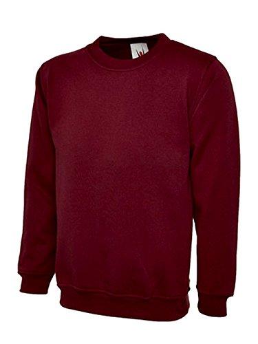Pour Ample Très Sweat Doux Coupe Multicolore Femme Bordeaux shirt xpqEfRwEX