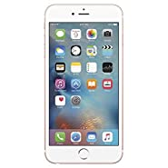 Apple iPhone 6S 16GB, Rose Gold Smartphone - GSM Unlocked (Renewed)