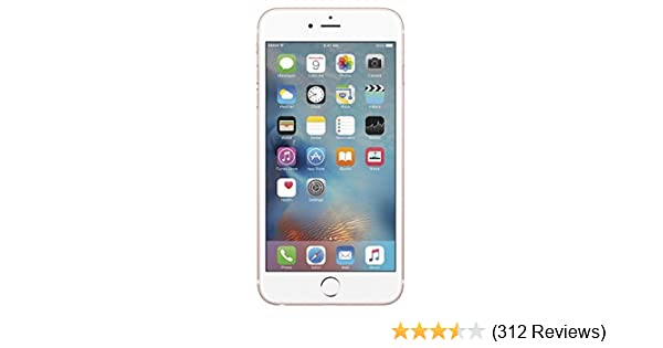 Apple Iphone 6s 16gb Rose Gold Smartphone Gsm Unlocked Renewed