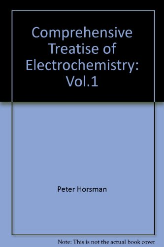 Comprehensive Treatise of Electrochemistry, Vol. 1: The Double Layer