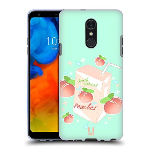 - Head Case Designs Milky Peach Peaches Soft Gel Case for LG Q Stylus/Q Stylo 4