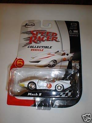 (Speed Racer Mach 5 Die-cast 1:55 Scale Vehicle by Jada)