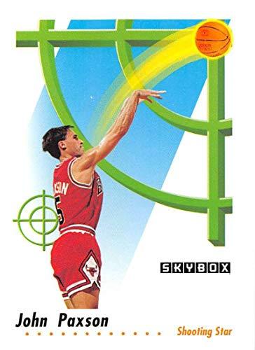 1991-92 SkyBox Basketball #598 John Paxson Chicago Bulls SS Official NBA Trading Card