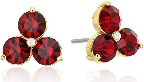 kate spade new york Flying Colors Trio Ruby Stud - Kate Red Spade