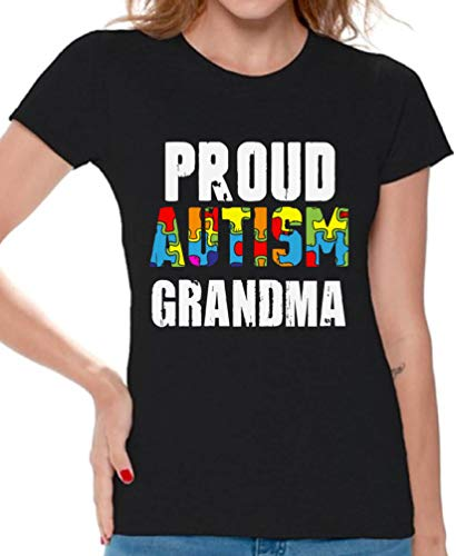 Awkward Styles Women's Love Puzzles Autism Awareness Graphic T Shirt Tops Autistic Support (M, Autism ()