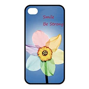 Stay Strong Be Strong iphone 4s Cases,Hard Silicone+PC Material, Case for iPhone 4 4s,Rubber Case Cover