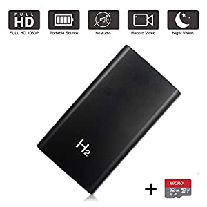 Flashandfocus.com 41oBEMdvwzL._SS300_ Hidden Camera Power Bank HD 1080P 5000mAh with 32GB Card -10 Hours Continuous Video Recording, Mini Security Wireless…