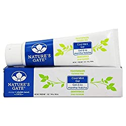 Natures Gate Tooth Paste Gel Cool Mint, 5 lb
