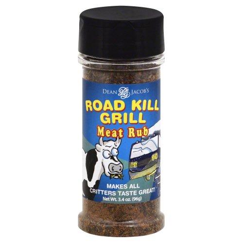 Crystal Dean Jacobs Seasoning Rub Meat Road Kill, 3.4 oz
