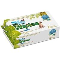 Bio Baby - Toallitas ecológicas bio wipies 72 unidades