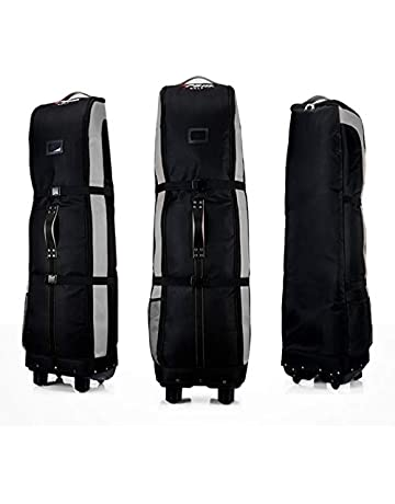 44ecbe8438 YCGJ Golf Borsa da Viaggio Covered Wheeled-Double Deck, Thicker, Waterproof  Nylon,