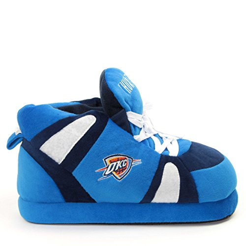 Sleeper'z – Chaussons officiels NBA Oklahoma Thunder – Adulte unisexe - Homme et Femme