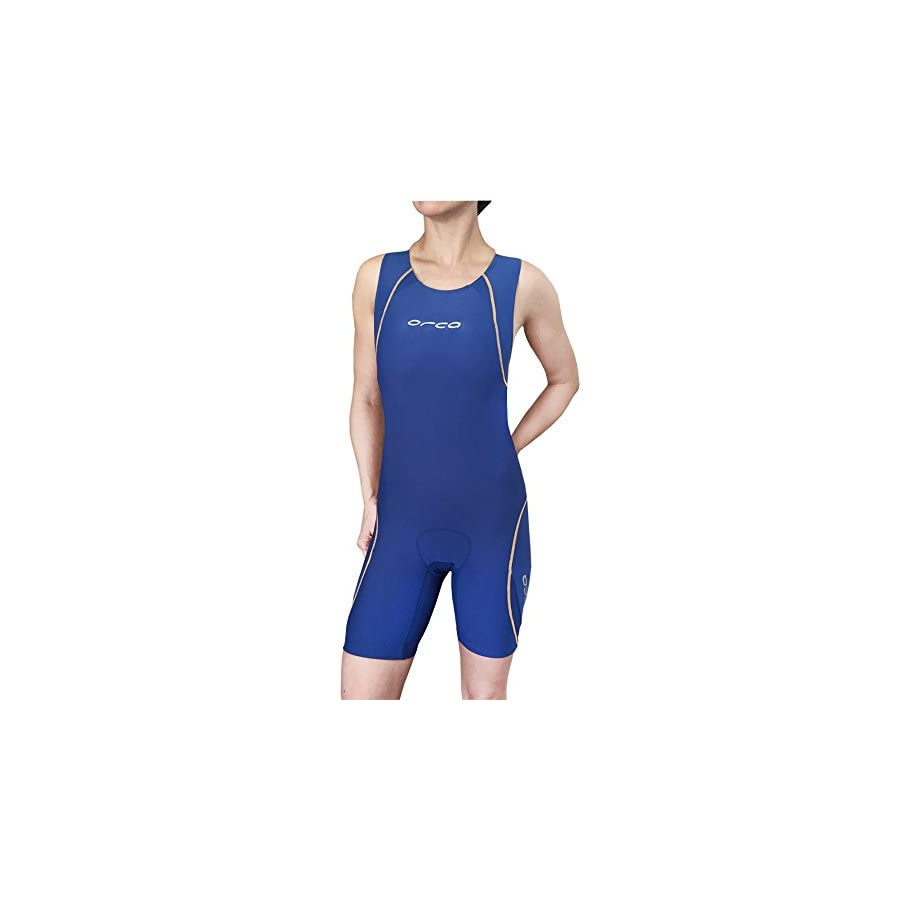 ORCA Women's 226 Tri Suit w/Internal Support Bra & Pockets W1503