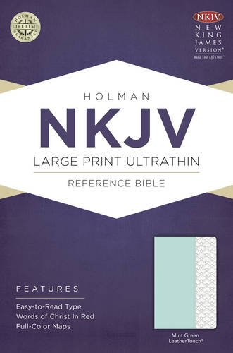 Download NKJV Large Print Ultrathin Reference Bible, Mint Green LeatherTouch ebook