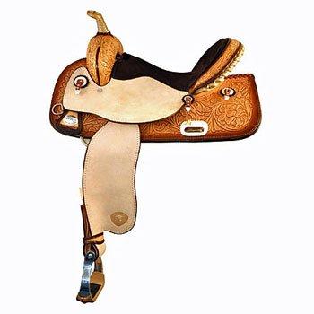 Tex Tan Flex Barrel Saddle