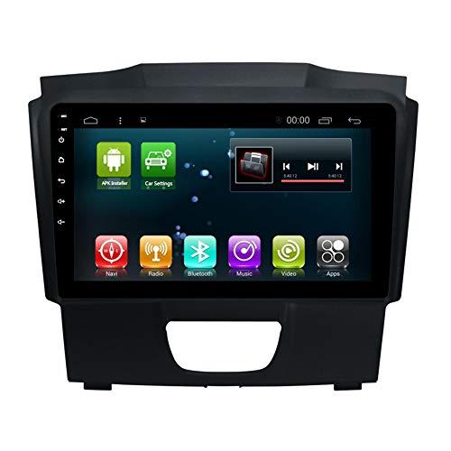 Car Radio GPS 9 inch Android 8.1 Octa Core Navi for Chevrolet Trailblazer Isuzu D-Max S10 Colorado MU-X Car Head Unit Multimedia Player Navigation WiFi (4+32G Android 8.1 for Chevrolet Isuzu)