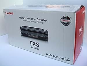 Original Canon FX-8 (FX8, 8955A001AA, 8955A001) 3500 Yield Black Toner Cartridge - Retail