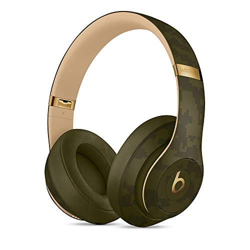 Beats Studio3 Over-Ear Bluetooth Kopfhörer mit Noise-Cancelling – Apple W1 Chip, Bluetooth der Klasse 1, aktives Noise-Cancelling, 22 Stunden Wiedergabe – Waldgrün