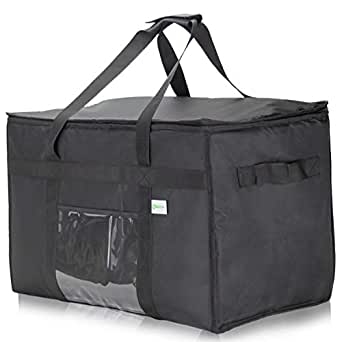 food delivery bag insulated commercial bags uber eats doordash xxl inches warmer amazon waterproof premium warmers restaurant sellers electric gideon