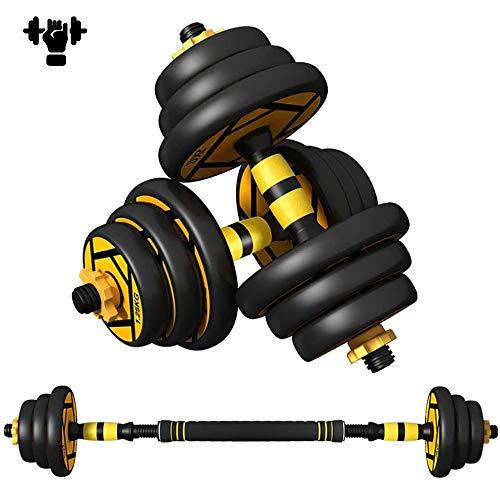 Halterset 40 kg, gewichten, verstelbare halters, set voor dames en heren, halterset voor thuis fitness
