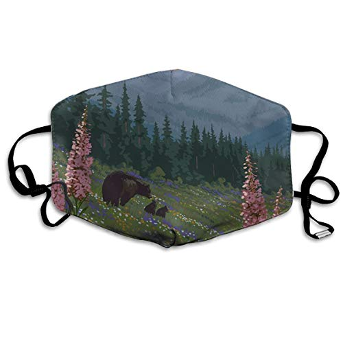 Killerboy Rocky Mountain National Park Anti Pollution Dust Mask Washable and Reusable PM2.5 Face Mouth Mask Protection from Flu Germ Pollen Allergy Respirator Mask