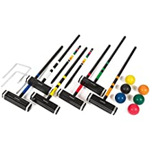 EastPoint Sports Premium 6 Player Croquet Lawn Game with Carrier