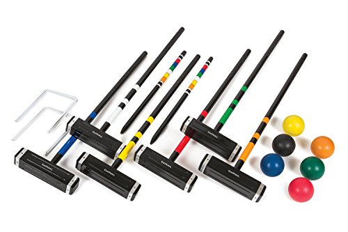 EastPoint Sports Best 6-Player Croquet Set with (6 Player Croquet Set)