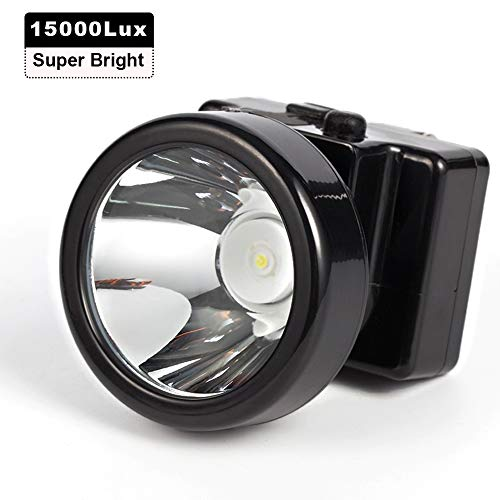 Kohree Ultra Bright 3W Rechargeable LED Headlamp Hunting Headlight with Strap for Outdoor Sport Camping Mining Hunting Fishing